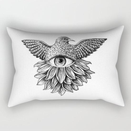 Vide Omnia Rectangular Pillow