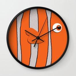 Cute Clown Fish Wall Clock