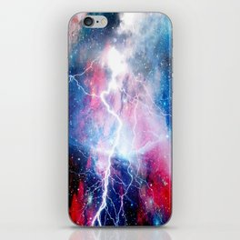 Starred Lightning iPhone Skin