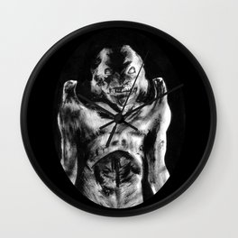 For Each Of Man's Evils A Special Demon Exists Wall Clock