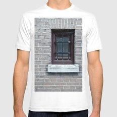 Window Mens Fitted Tee White MEDIUM
