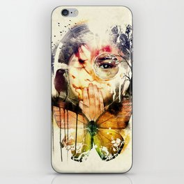 The Silence iPhone Skin