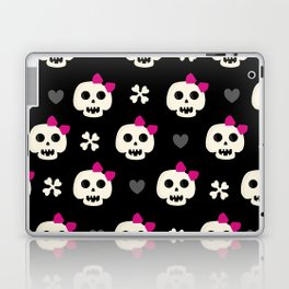 Skully Girl Laptop & iPad Skin
