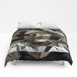 Courbet's The Desperate man & James Stewart Comforters