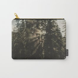 Sunset in the Woods - Nature Photography Carry-All Pouch