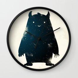 Mr. Cosmos (Color Version) Wall Clock