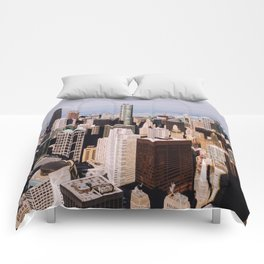 Sweet Home Chicago Comforters