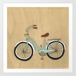 Wanna Ride Bikes? Art Print