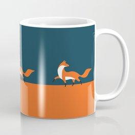 Fox walk Coffee Mug