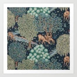 William Morris The Brook Art Print