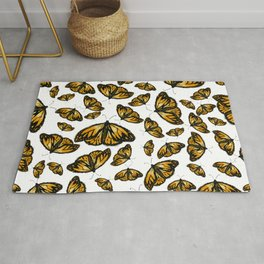 Monarch Butterfly Rug