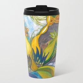Waterlily Masquerade Travel Mug