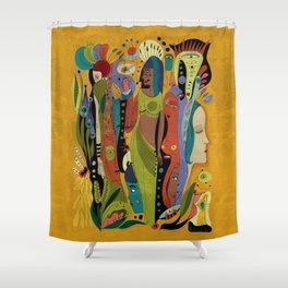 Solstice Queens Shower Curtain