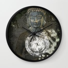 Buddha *The only real failure in life is not to be true to the best one knows* Wall Clock
