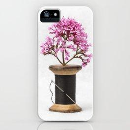 Wooden Vase iPhone Case