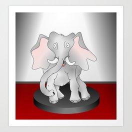 The Elephant Factor Art Print
