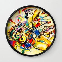 Kandinsky - untitled Wall Clock