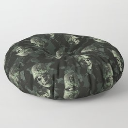 Soldiers Heads Pattern Floor Pillow