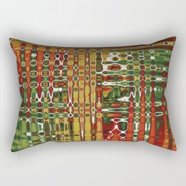 Abstract Art Work Geometic Rectangular Pillow
