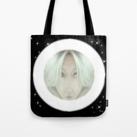 portal Tote Bags featuring Portal by Geni