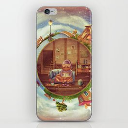 Friendly small Planet iPhone Skin