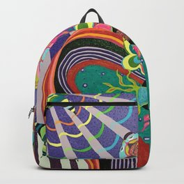 Abstract Fish Backpack