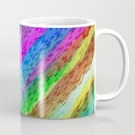 Colorful digital art splashing G478 Coffee Mug