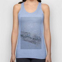 Silver Gray Glitter #2 #shiny #decor #art #society6 Unisex Tank Top