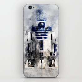 droid in space iPhone Skin