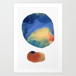 Captured Moons of Jupiter #14 Art Print