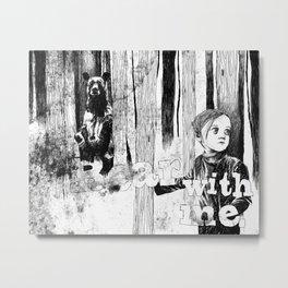 Bear With Me Metal Print