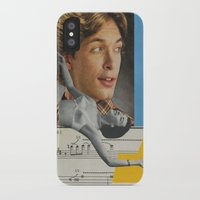 postcard iPhone & iPod Cases featuring Postcard #29 by Jon Duci
