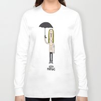 iggy Long Sleeve T-shirts featuring Iggy Poppins by Levedad