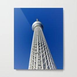Skytree Metal Print