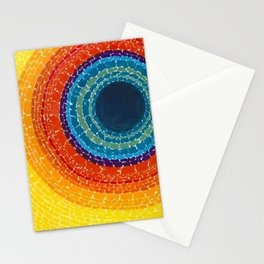 African American Masterpiece The Eclipse by Alma Thomas Stationery Cards