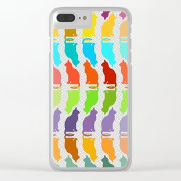 """Kitty Pride"" Clear iPhone Case"