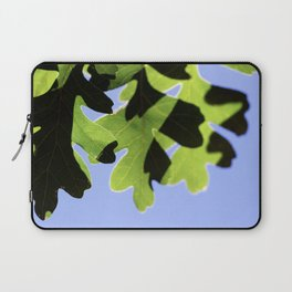 Summer Oak Leaves in the Shaddows Laptop Sleeve