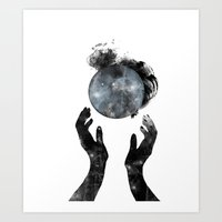 howl Art Prints featuring Howl by M. Vander