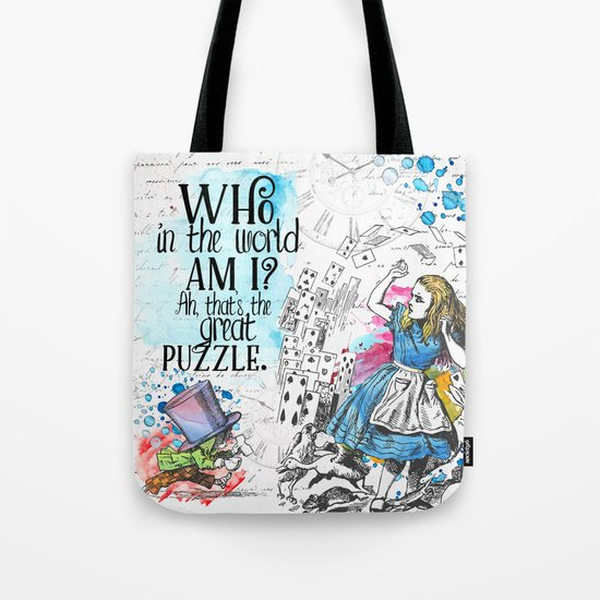 Who in the world am I? Tote Bag
