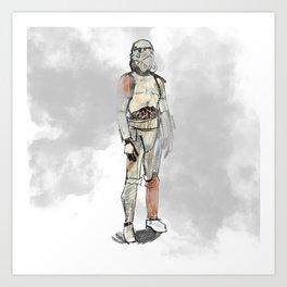 The War in the Stars Art Print