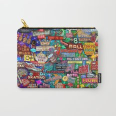 Vintage Neon Signs Carry-All Pouch