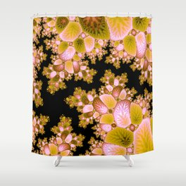 Crack in the Cosmic Tree Fractal Shower Curtain