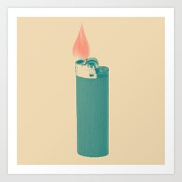 lighter! Art Print