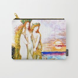 """Gustave Moreau """"The Sirens"""" Carry-All Pouch"""