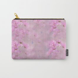 PINK SPRING TIME FLOWER GARDEN Carry-All Pouch