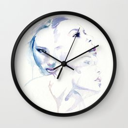 Losing myself when looking at you Wall Clock