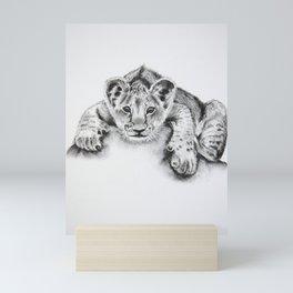 Mtoto Simba Mini Art Print