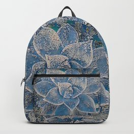 Lace Succulent Backpack