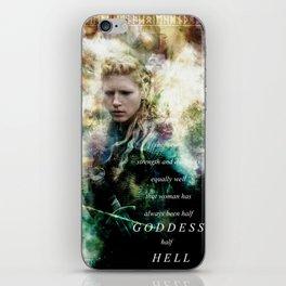 Half Goddess iPhone Skin