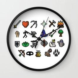 Old School Runescape Skills Wall Clock